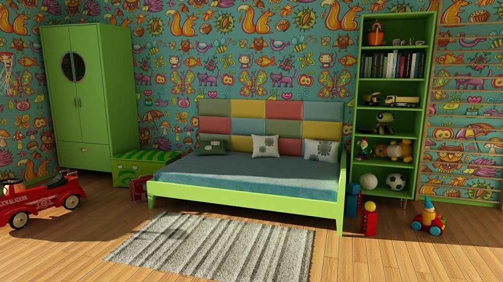 Hübsche Kindertapeten verzaubern das Kinderzimmer